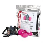 Half Mask Respirator Kit with P100 Cartridges