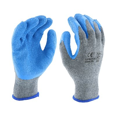 Grip Textured Latex Palm Gloves